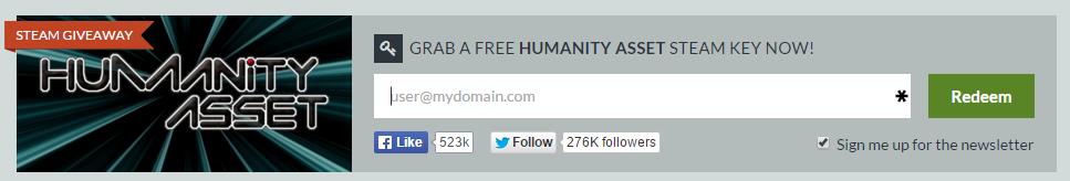 Бесплатная раздача Humanity Asset от Indiegala