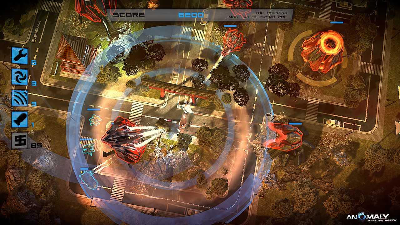 Игра Anomaly: Warzone Earth в подарок в Стиме