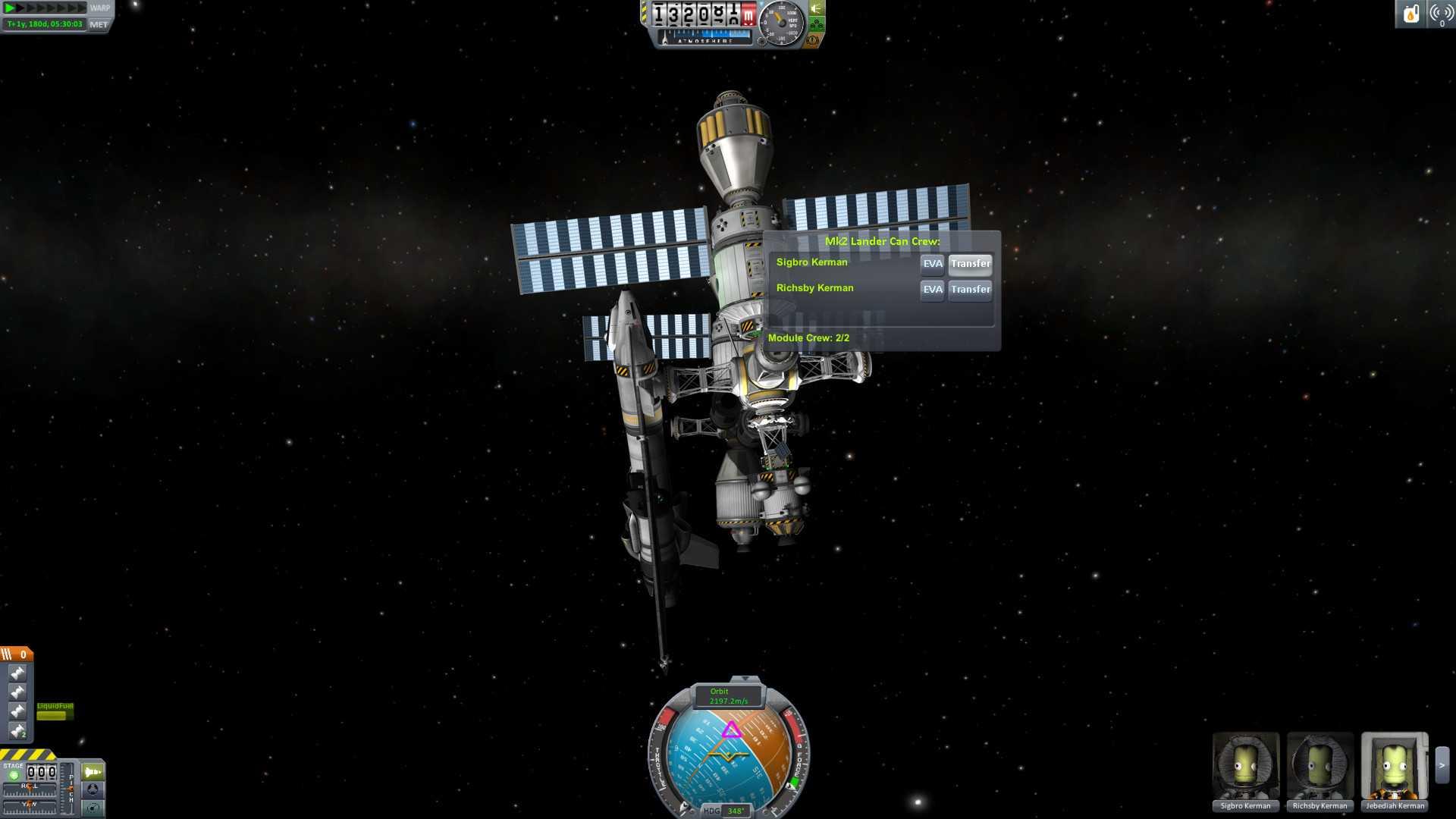 Акция в Kerbal Space Program