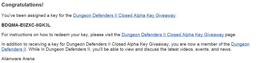 Dungeon Defenders II бесплатно в Стиме от Alienware Arena