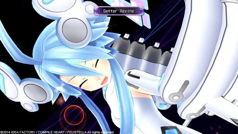 Акция в Hyperdimension Neptunia Re;Birth1