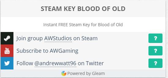 Blood of Old в подарок от Awstudios