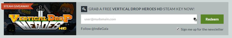 Vertical Drop Heroes HD забрать бесплатно в Steam