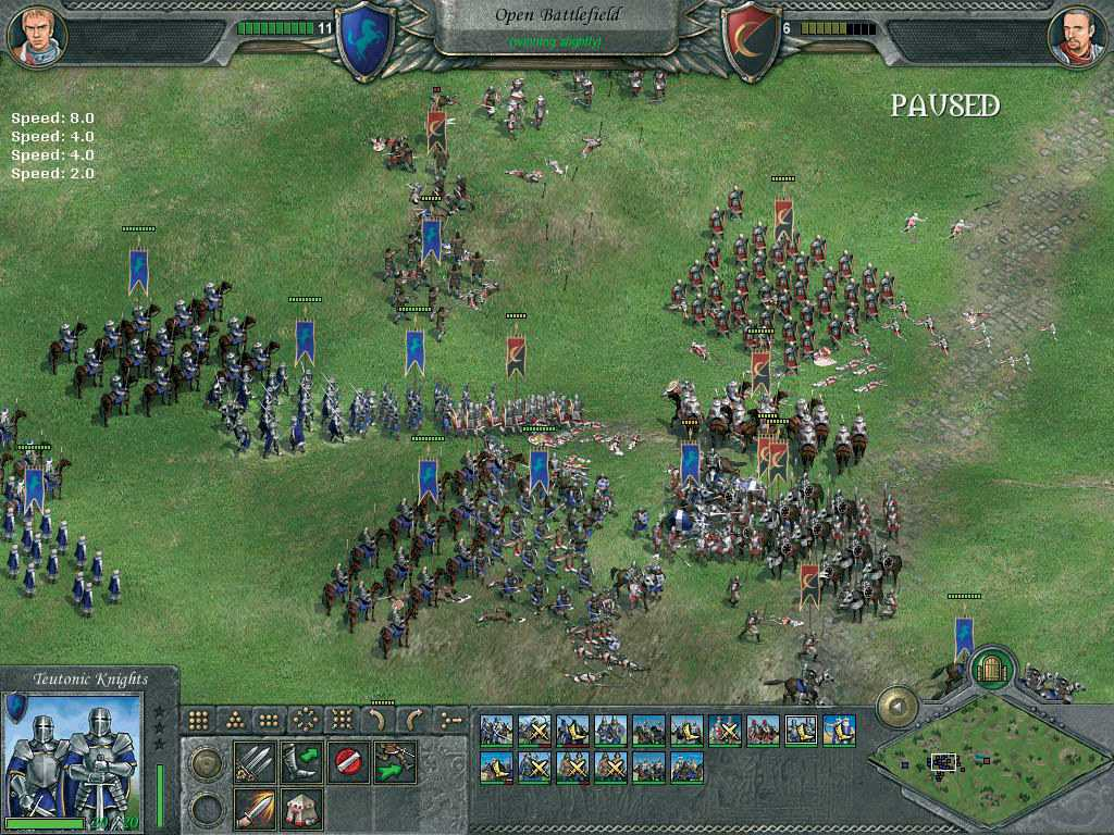 Knights of Honor со скидкой Стима в 80%