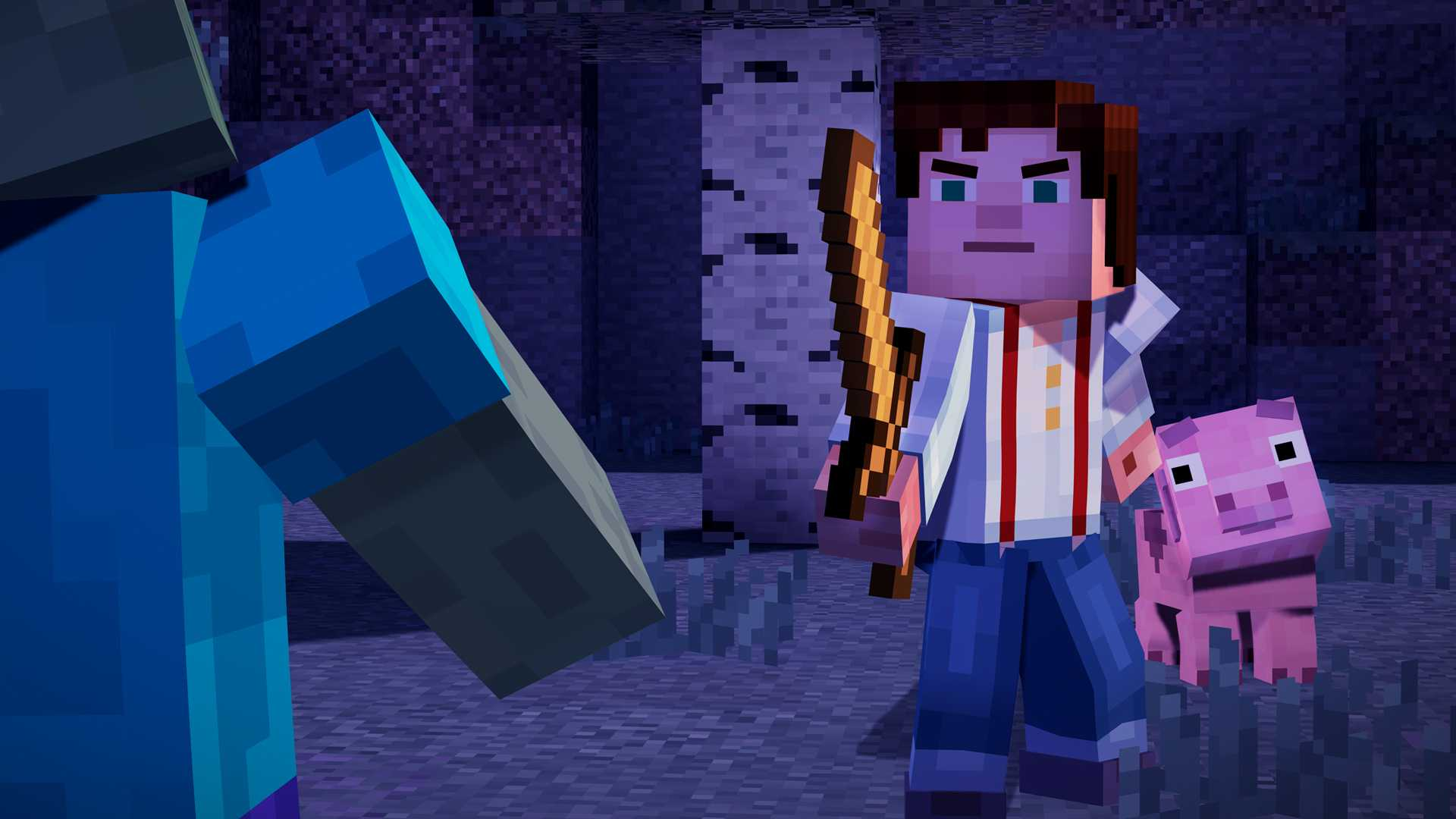 Minecraft: Story Mode — A Telltale Games Series купить со скидкой