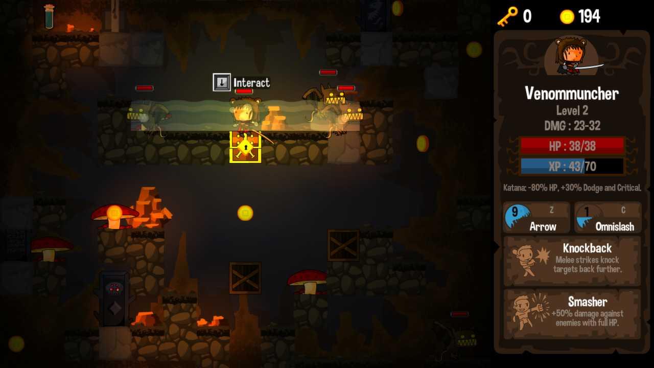 Акция в Vertical Drop Heroes HD
