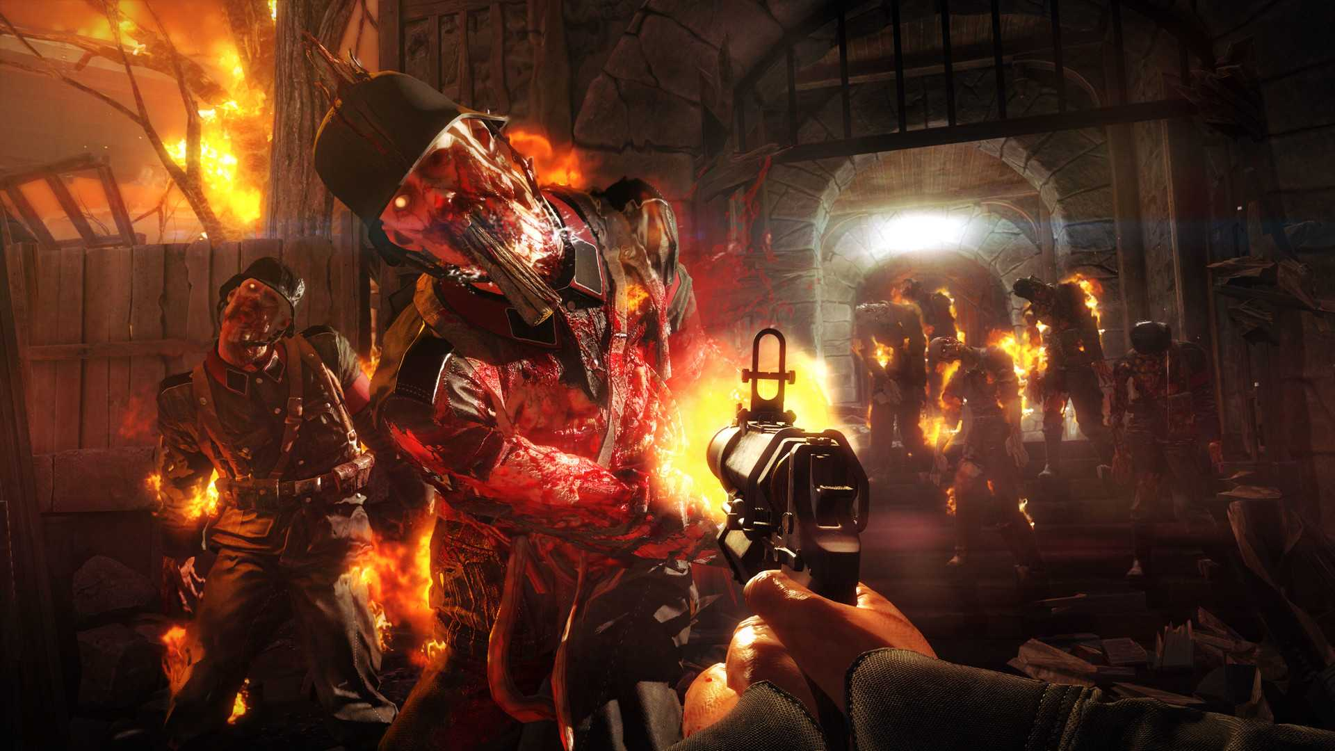 Акция в Wolfenstein: The Old Blood