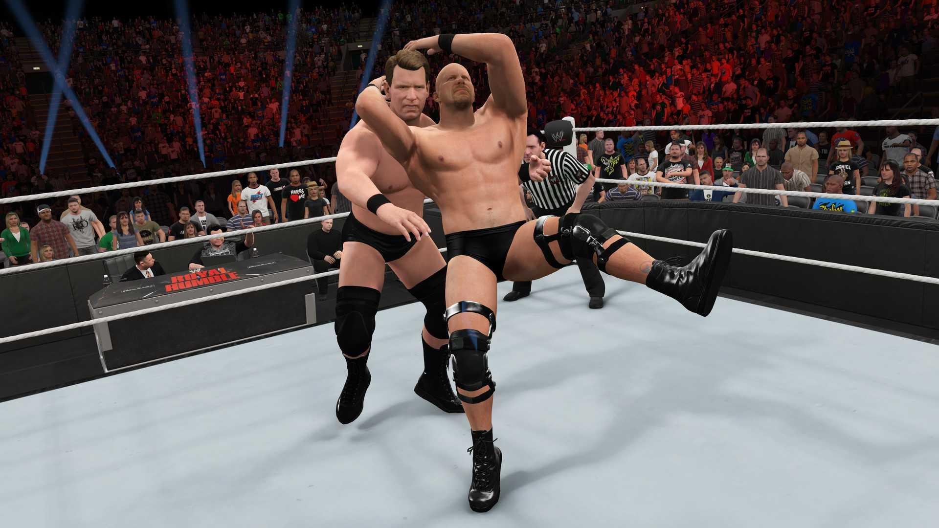 Акция в WWE 2K15