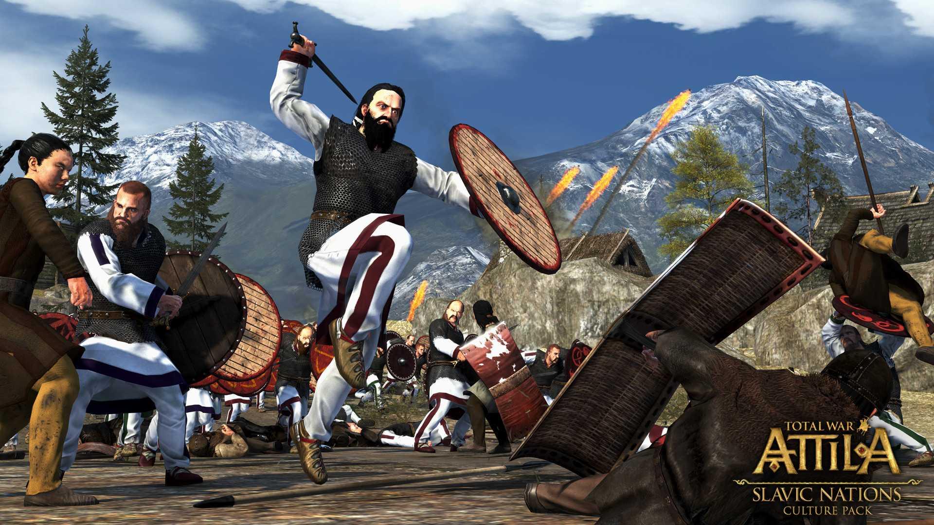 Скидка на Total War: ATTILA — Slavic Nations Culture Pack
