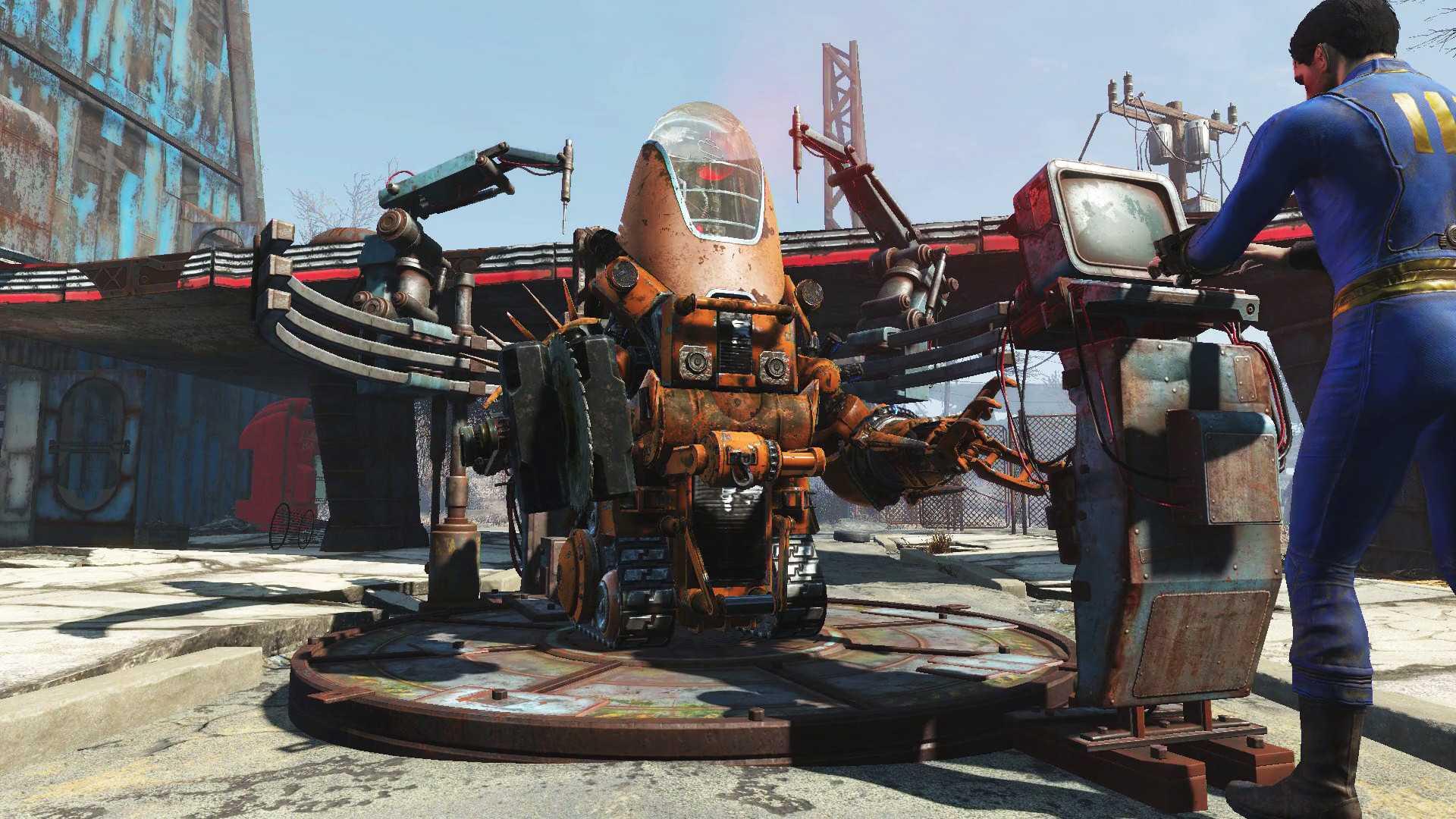 Акция в Fallout 4 - Automatron