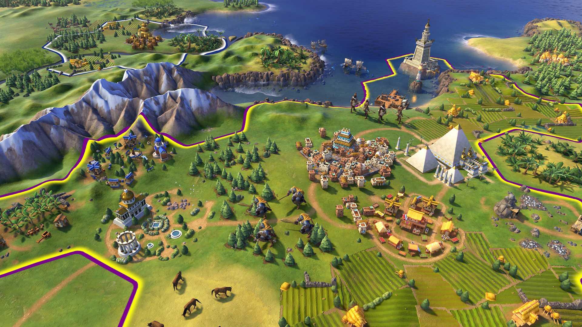 Civilization VI первые скриншоты