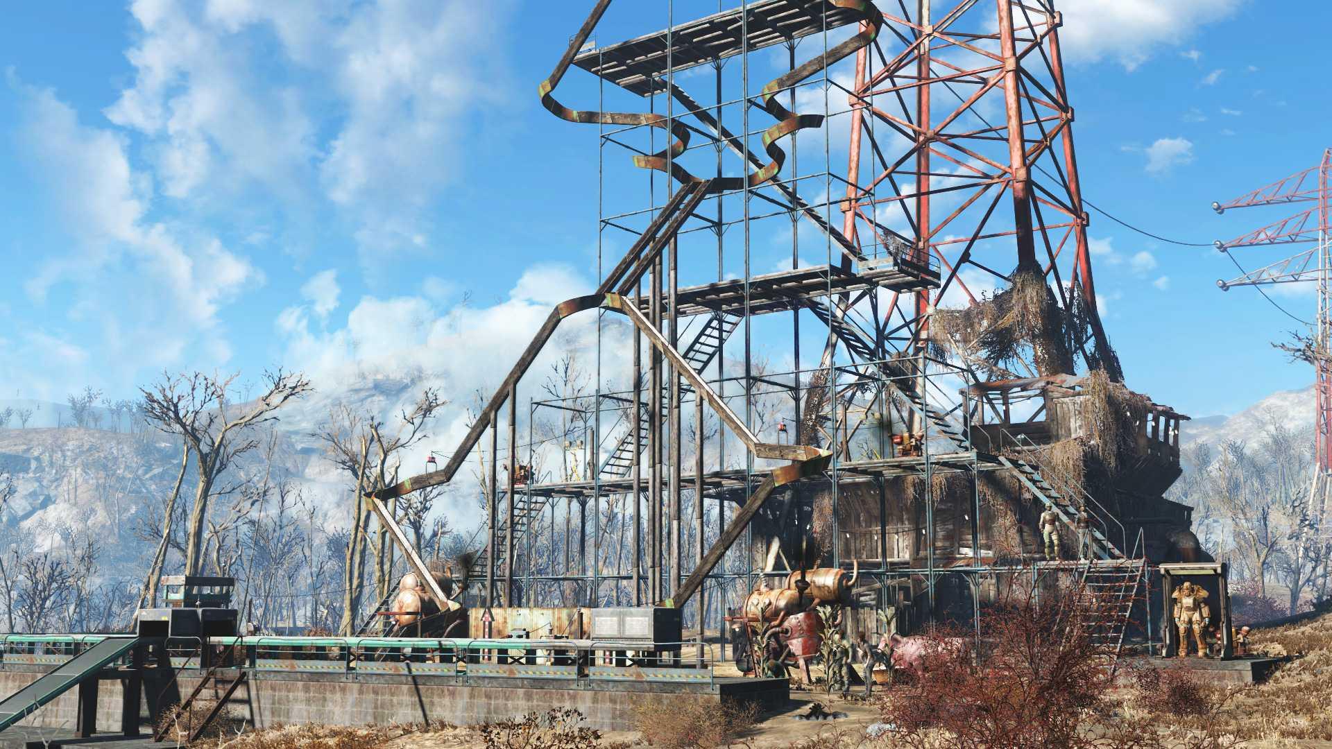 Купить Fallout 4. Contraptions Workshop DLC дешевле чем в Steam