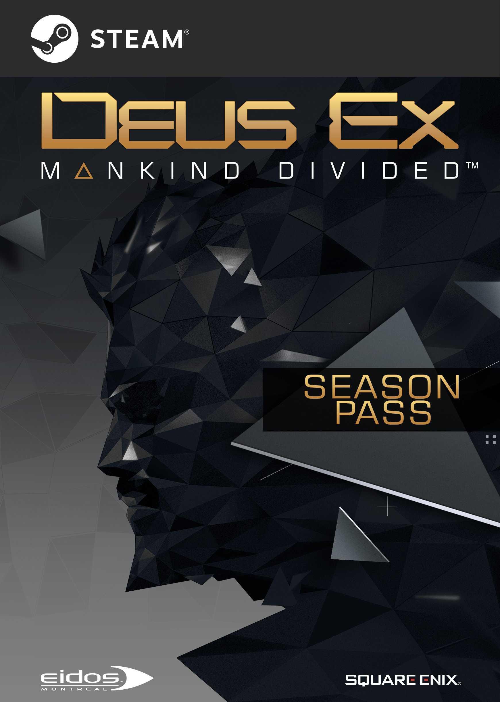 Купить Deus Ex: Mankind Divided Season Pass со скидкой