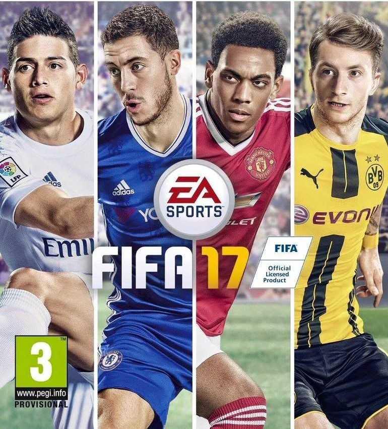 Купить FIFA 17 (PS4) со скидкой 50%