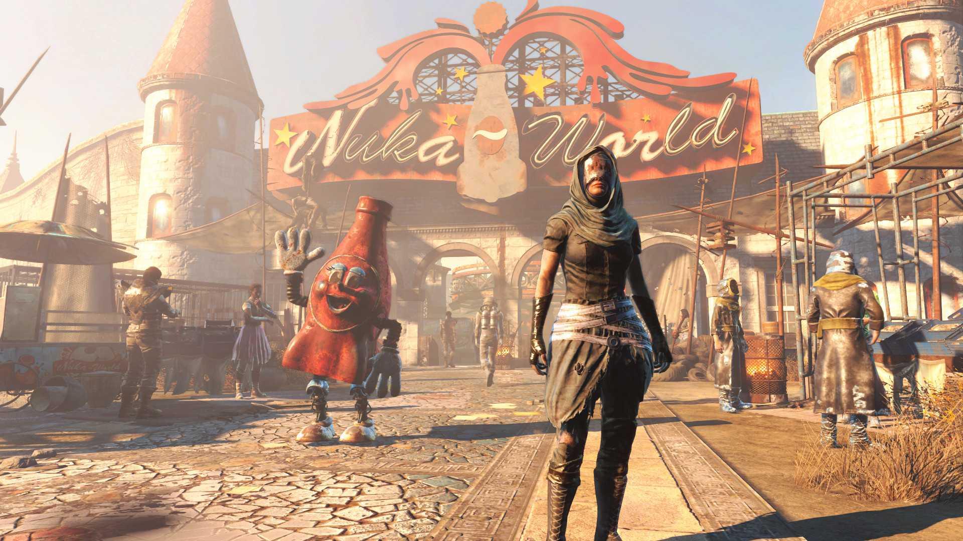 Купить Fallout 4 Nuka-World со скидкой