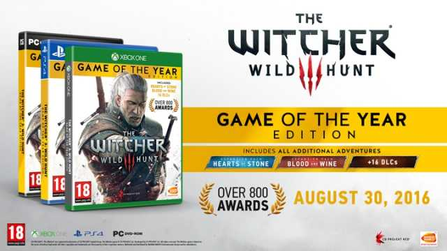 The Witcher 3. Game of the Year (GOTY) Edition со скидкой