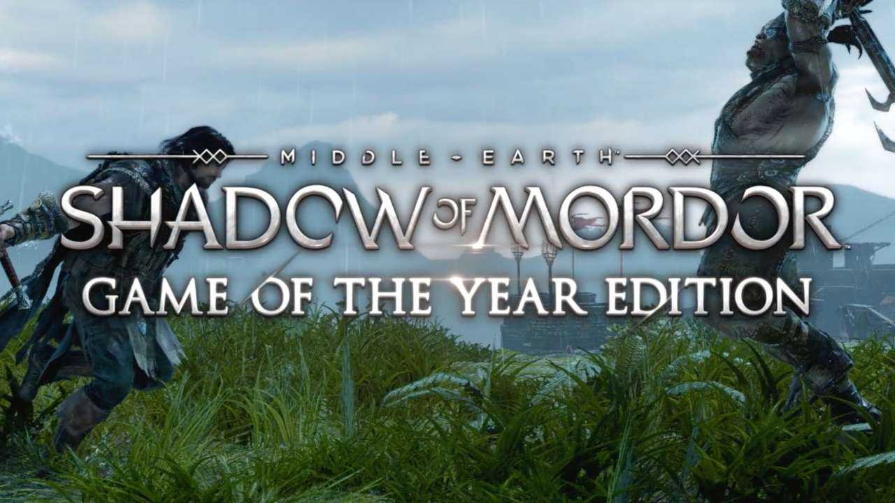 Поиск по запросу Middle-earth. Shadow of Mordor Game of the Year Edition