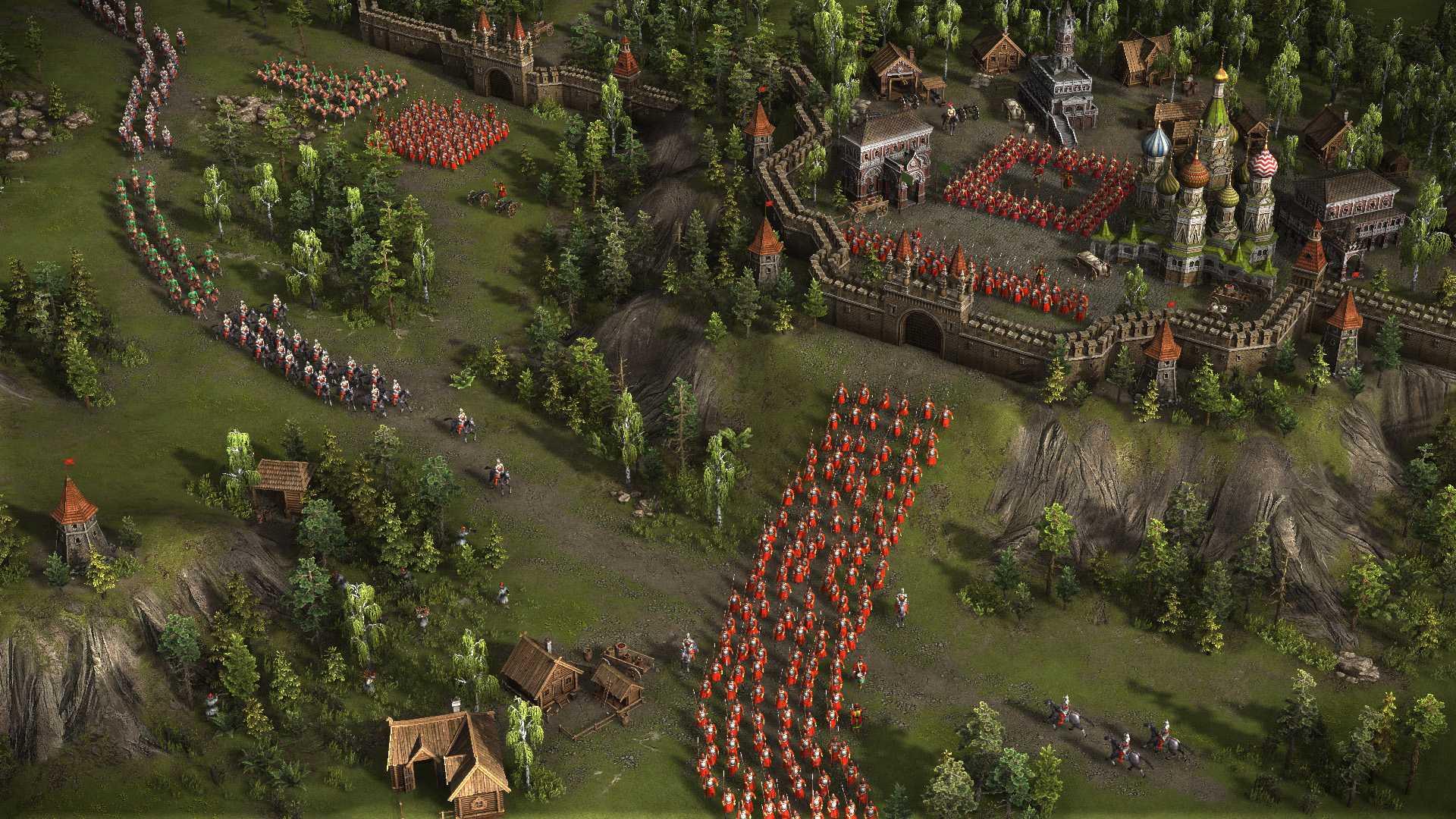Акция в Cossacks 3