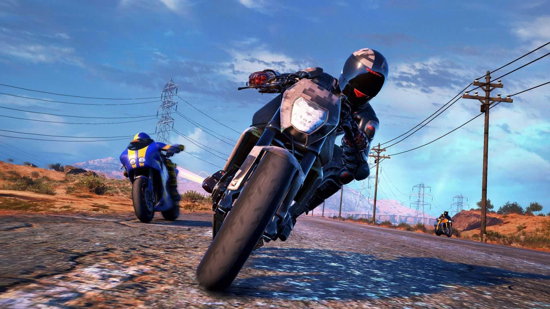 Распродажа игры Moto Racer  4