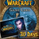 Карта оплаты World of Warcraft (wow)