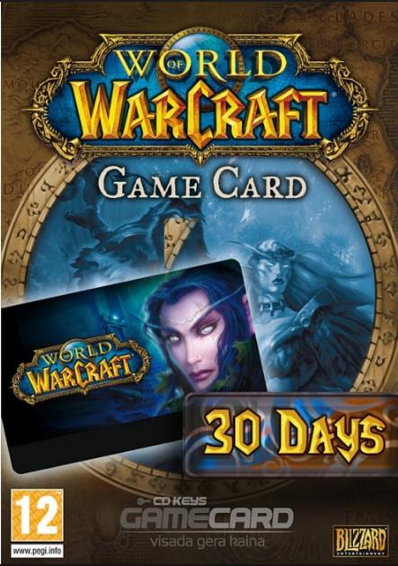 Скидка на World of Warcraft. Battle Chest + 30 дней