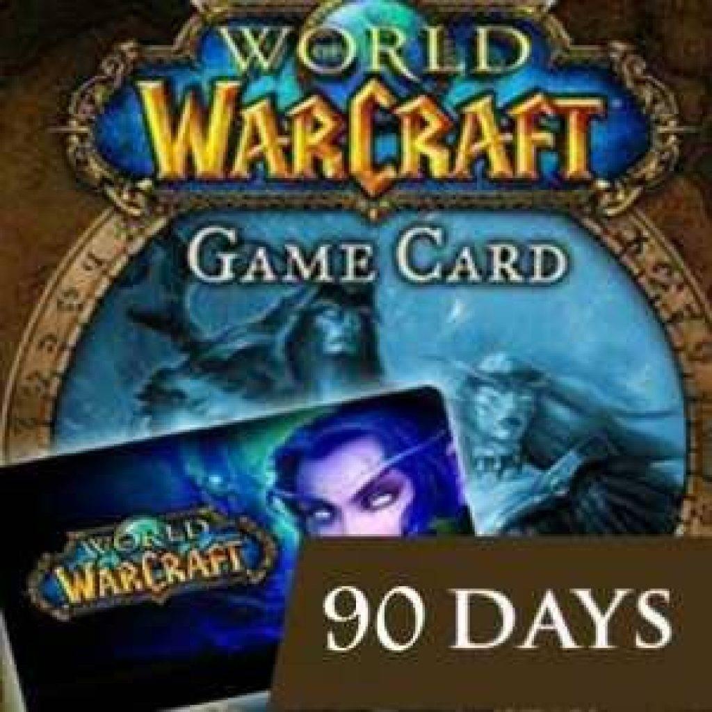 Поиск по запросу World of Warcraft. 60 дней