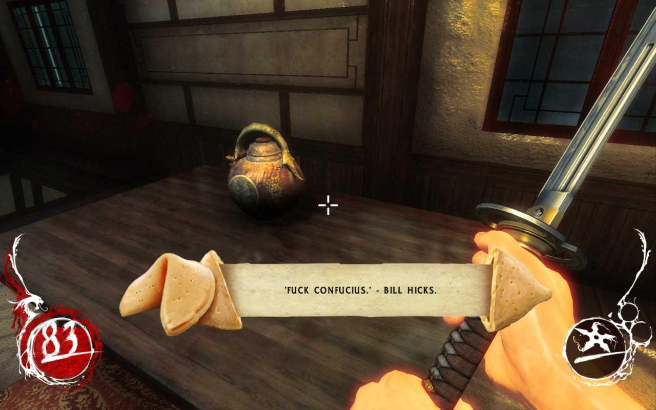 Печеньки с предсказаниями - изюминка первой части Shadow Warrior
