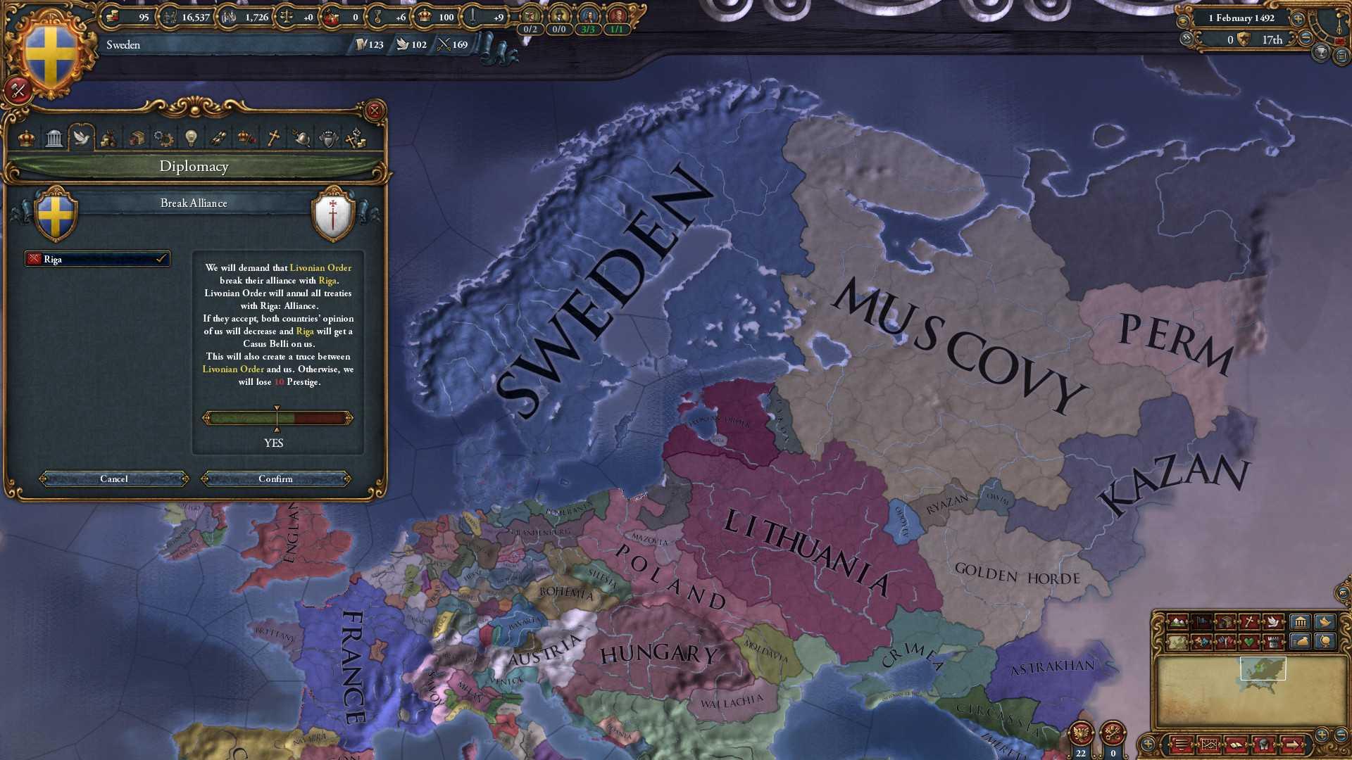 Купить Europa Universalis IV: Rights of Man со скидкой