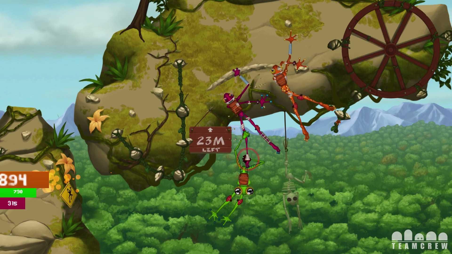 Акция в Frog Climbers