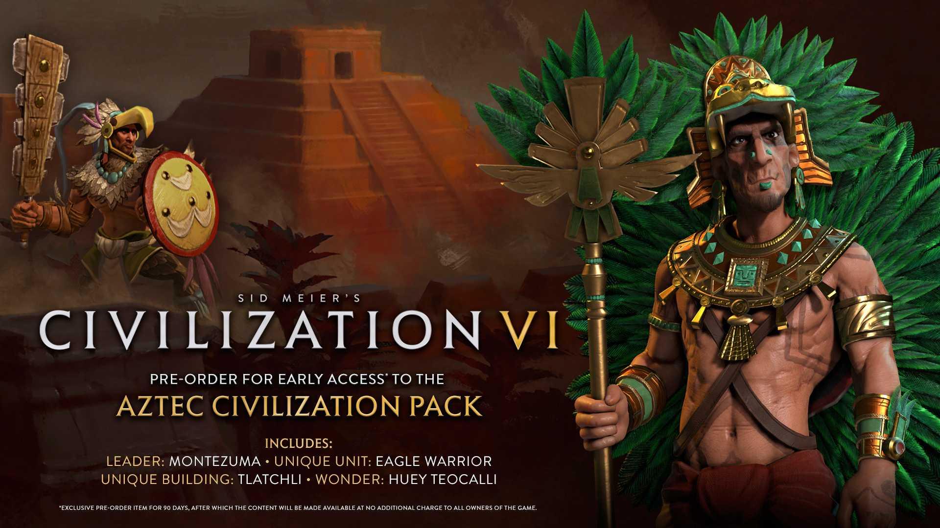 Доступна предзагрузка Civilization VI