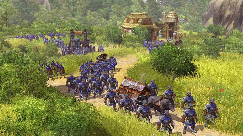 The Settlers: Rise of an Empire. Некое сходство все-таки наблюдается