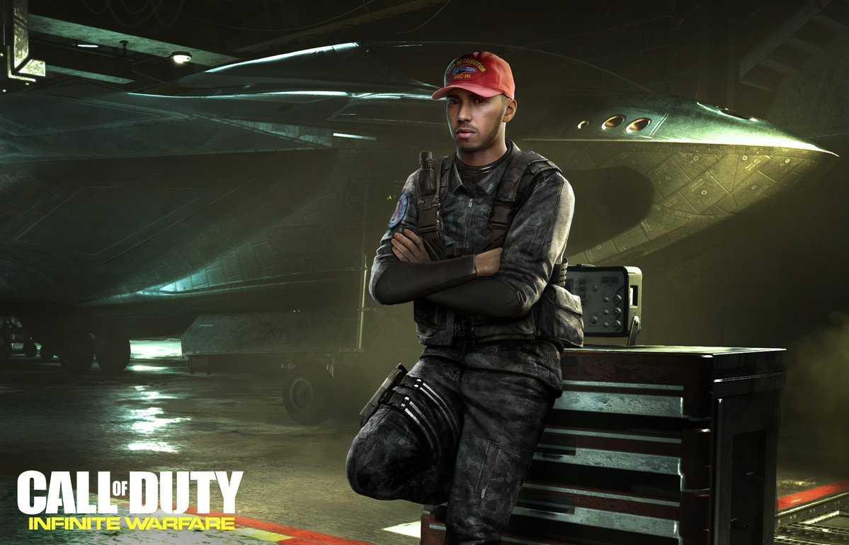 Льюис Хэмилтон подтвердил участие в CoD: Infinite Warfare