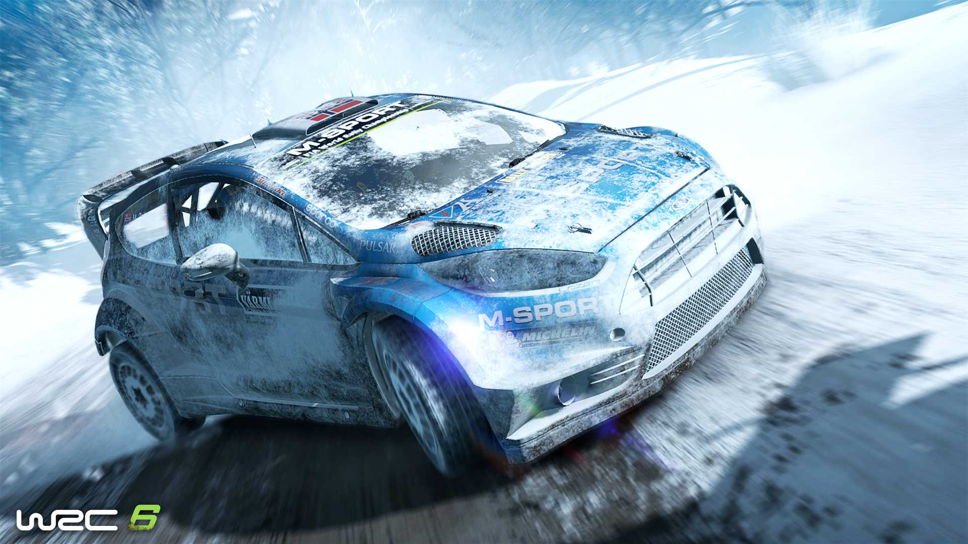 Акция в WRC 6 FIA World Rally Championship