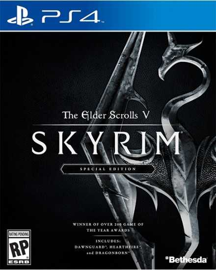 Купить The Elder Scrolls V. Skyrim Special Edition (PS4) со скидкой 43%