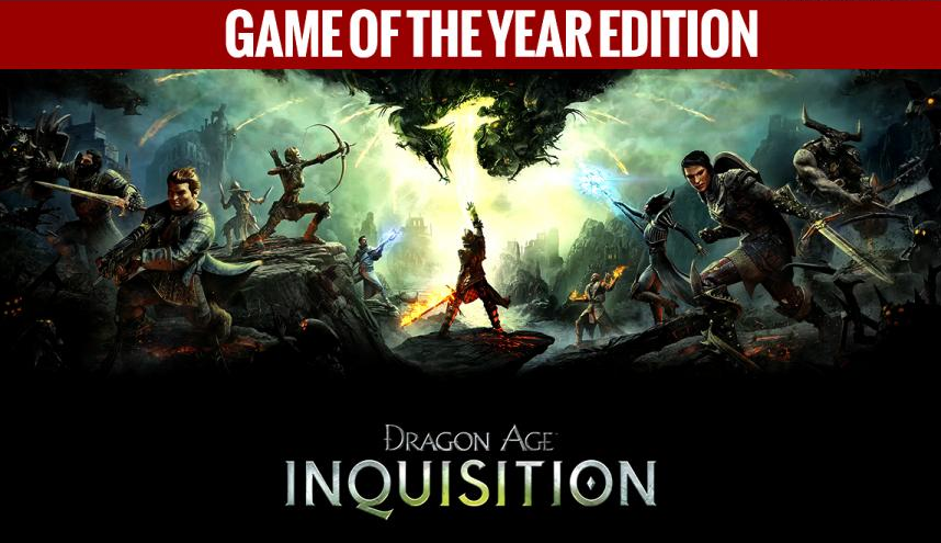 Dragon age. Inquisition. GOTY