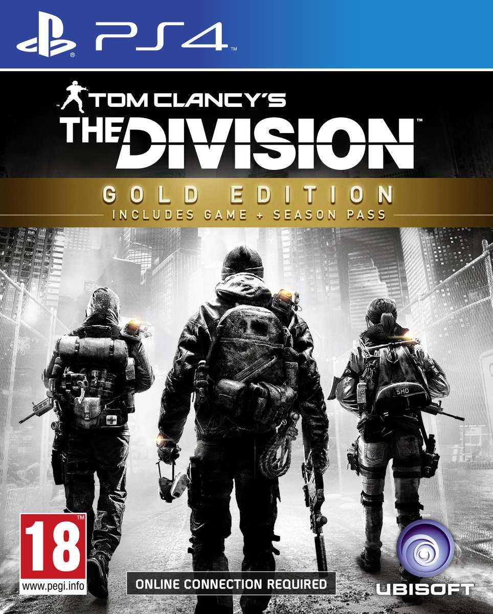 Купить Tom Clancy's The Division. Gold Edition (PS4) со скидкой 43%
