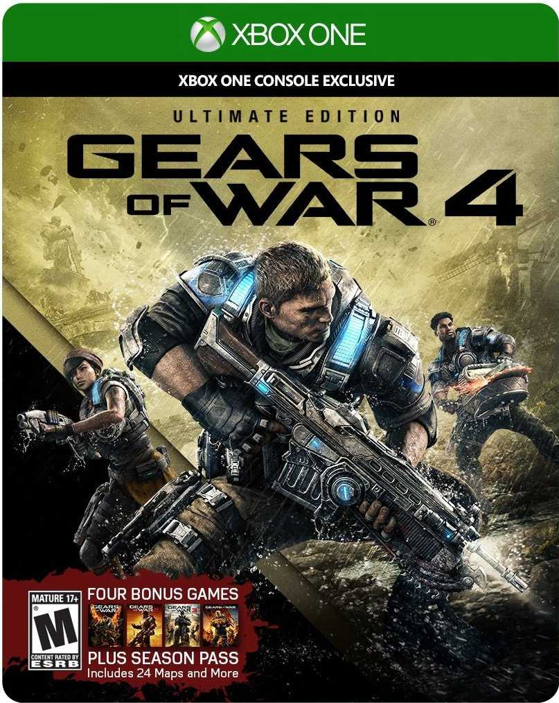 Gears of War 4 (XBox One) дешевле чем в Steam