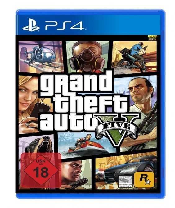 Купить Grand Theft Auto V (GTA 5) (PS4) со скидкой 45%