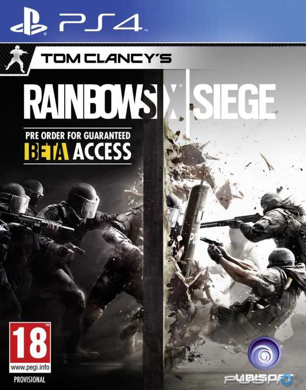 Купить Tom Clancy's Rainbow Six. Осада (PS4) со скидкой 41%