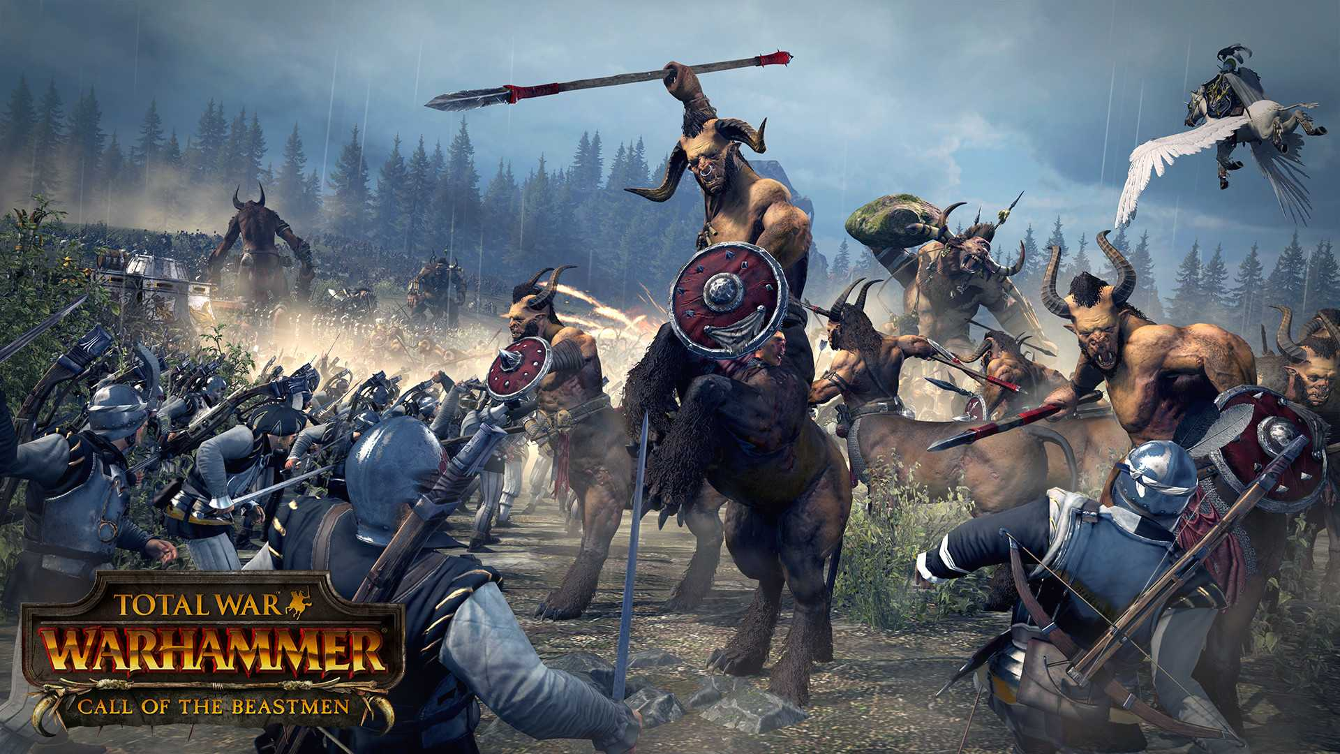 Купить Total War: Warhammer — Call of the Beastmen дешево