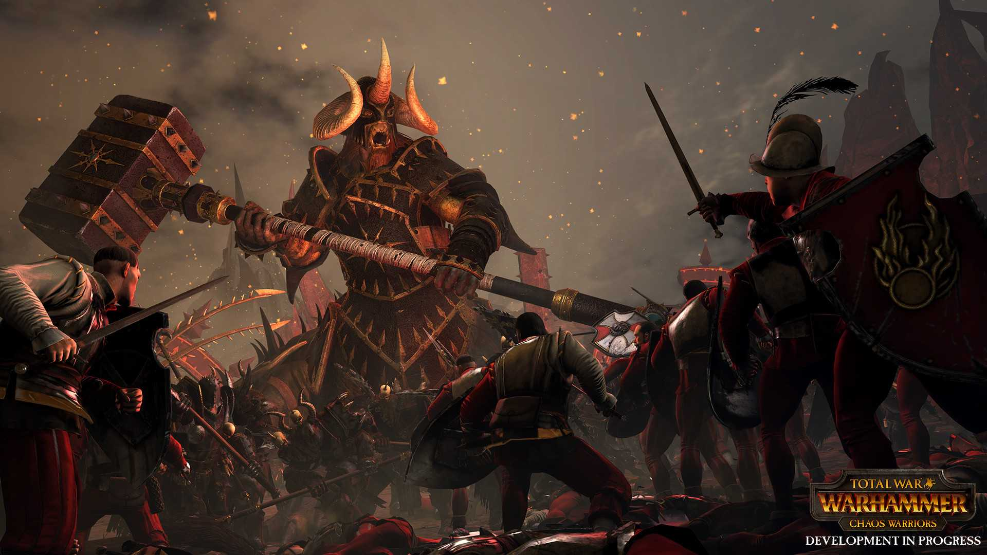 Total War: Warhammer — Chaos Warriors Race Pack дешевле Steam'а