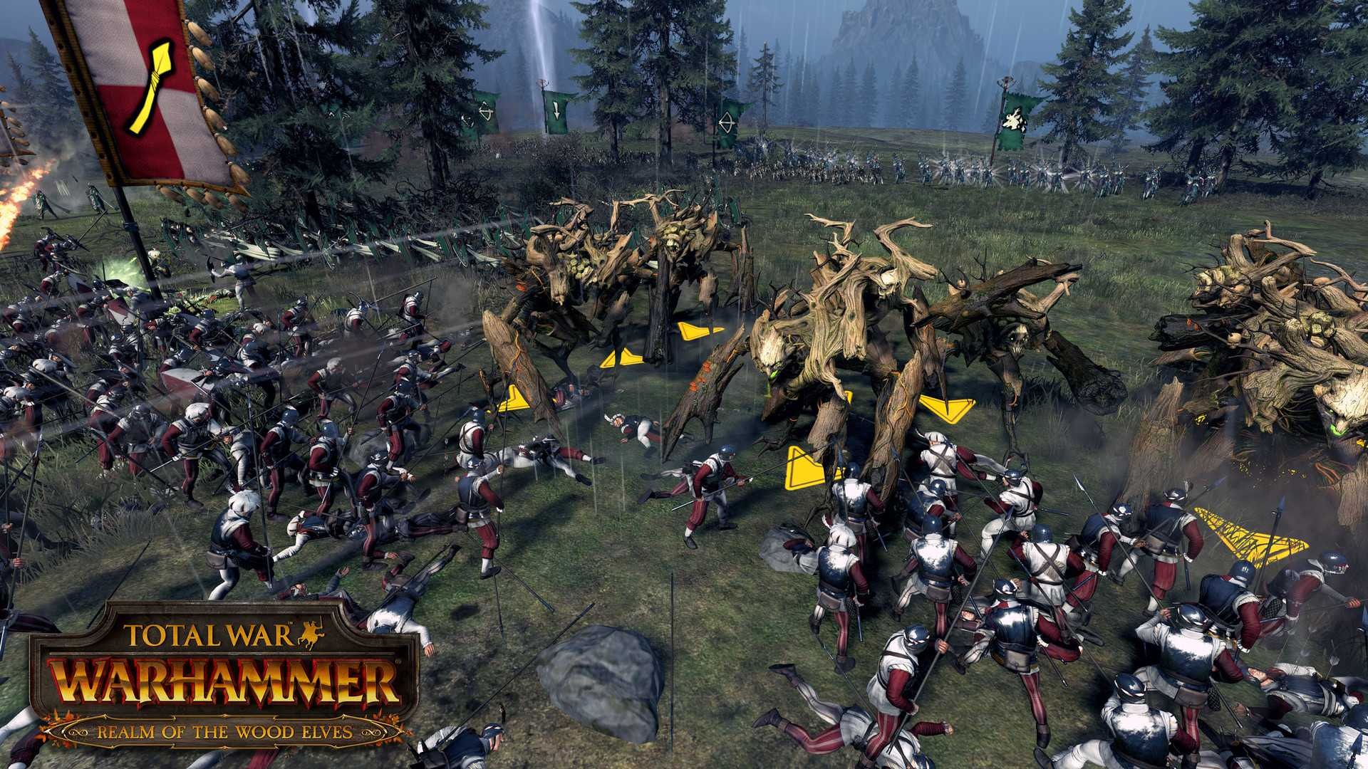 Распродажа игры Total War: WARHAMMER - Realm of The Wood Elves