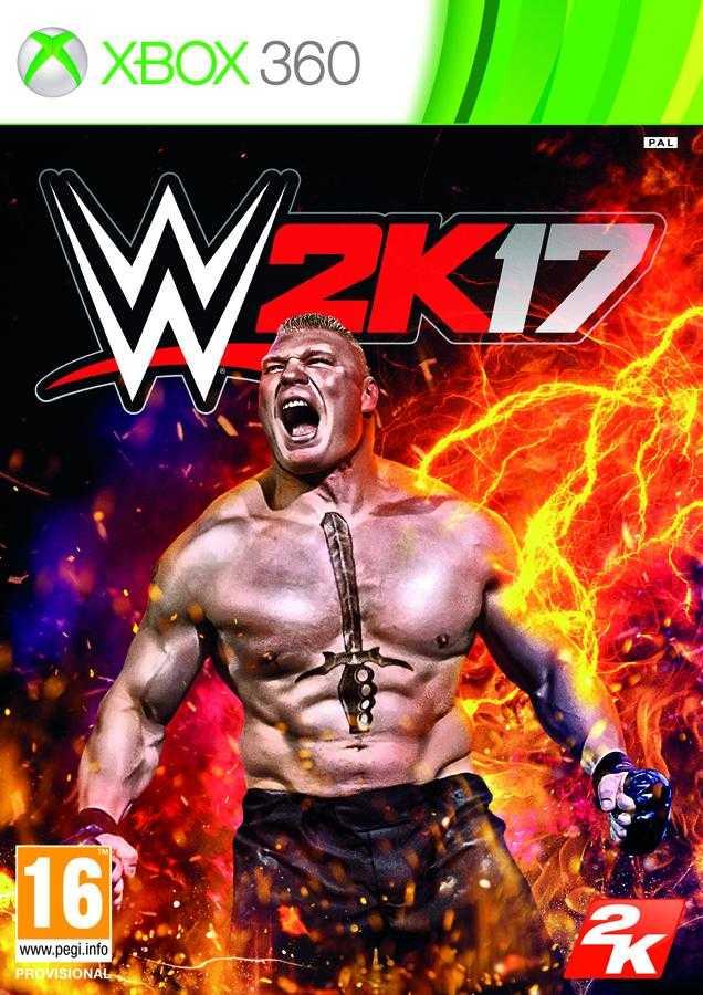 Купить WWE 2K17 (Xbox 360) со скидкой 34%
