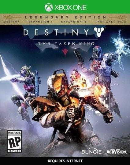Купить Destiny. The Taken King. Legendary Edition (Xbox One) со скидкой 33%