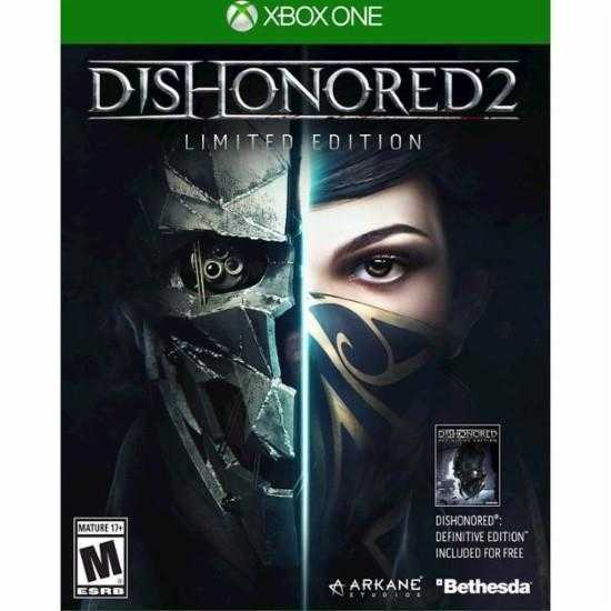 Купить Dishonored 2. Limited Edition (Xbox One) со скидкой 37%