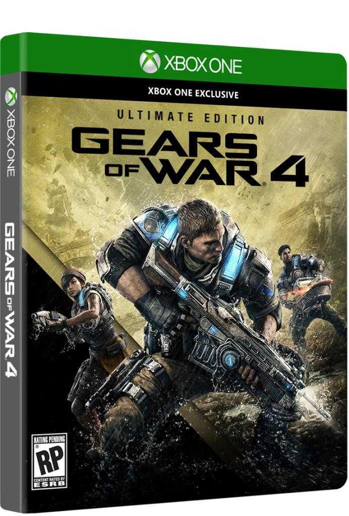 Купить Gears of War 4. Ultimate Edition (Xbox one) со скидкой 38%