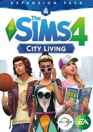 Купить The Sims 4. Жизнь в городе со скидкой 50%