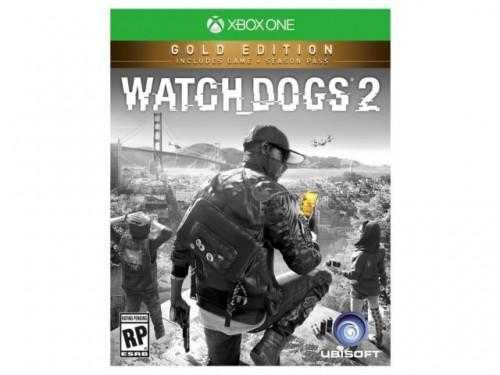 Купить Watch Dogs 2. Gold Edition (Xbox One) со скидкой 50%