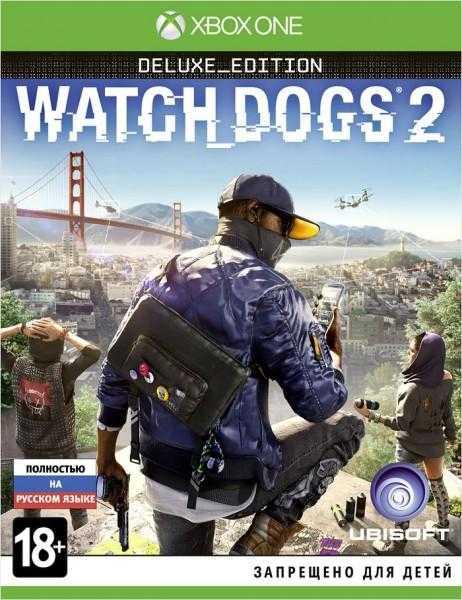 Купить Watch Dogs 2. Deluxe Edition (Xbox One) со скидкой 50%