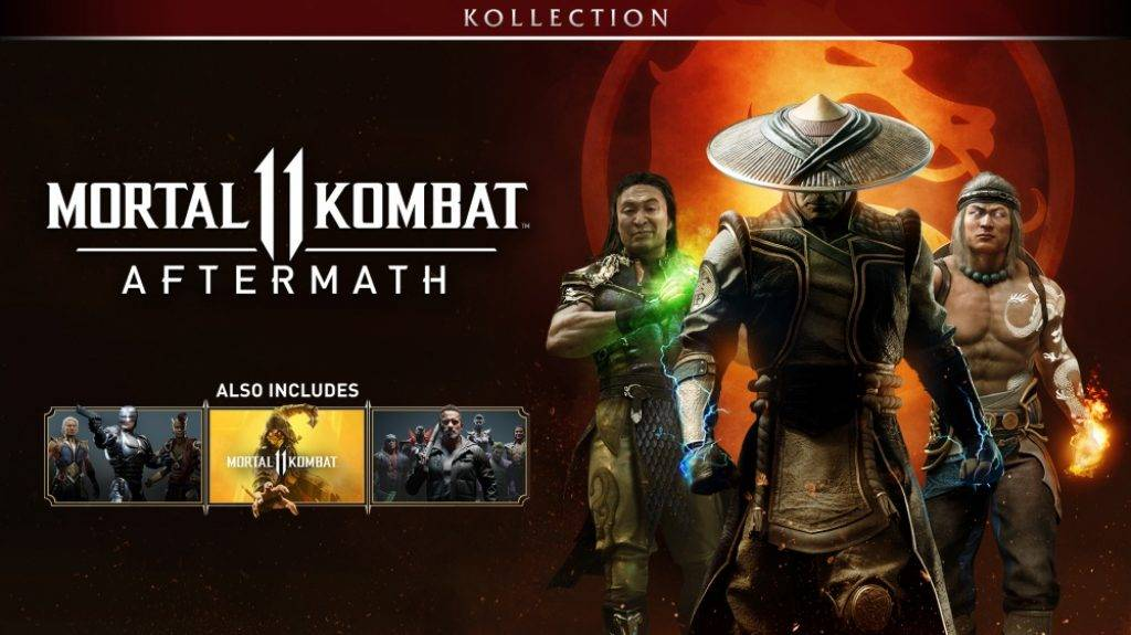 Получите всех персонажей сразу - купите Mortal Kombat 11 Aftermath Kollection дешевле Steam